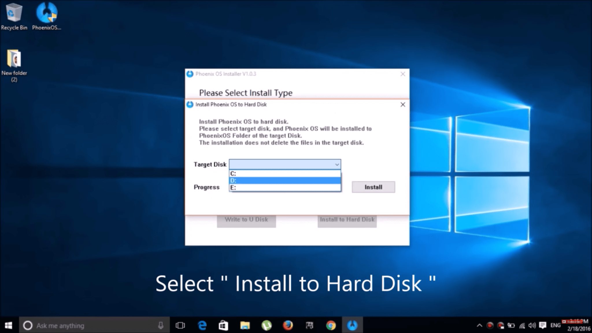 how to choose drive to boot from dell
