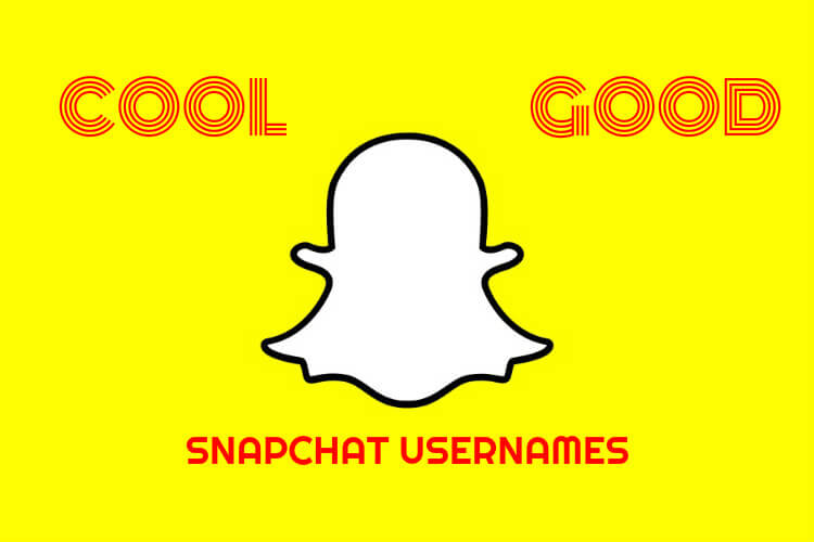 Cool Snapchat Names using Good Ideas