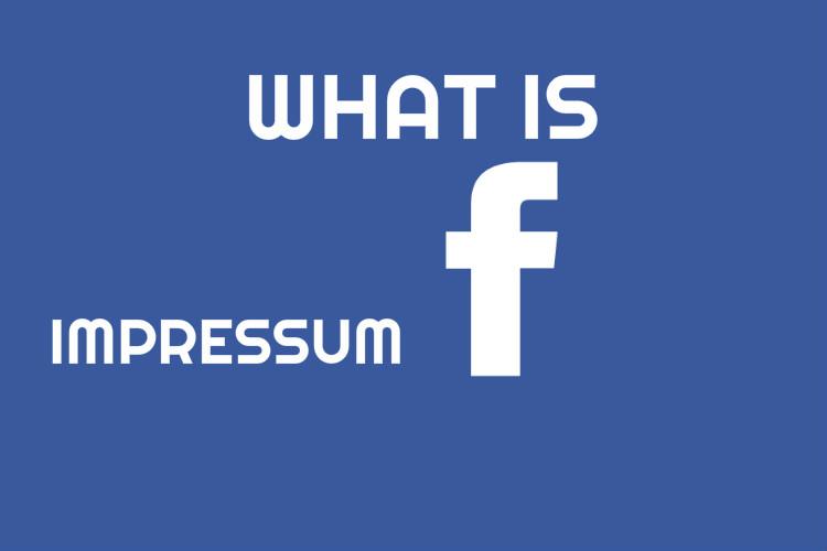 Impressum Facebook