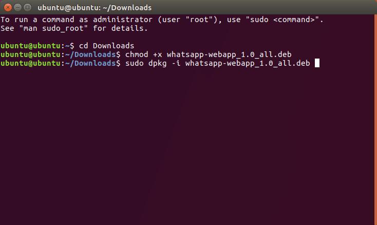 Whatsapp Linux Commands
