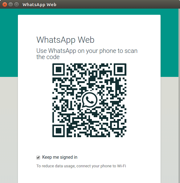 Whatsapp Running on Ubuntu