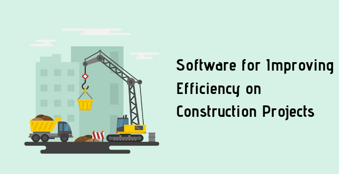 Software Improving Efficiency Construction Projects
