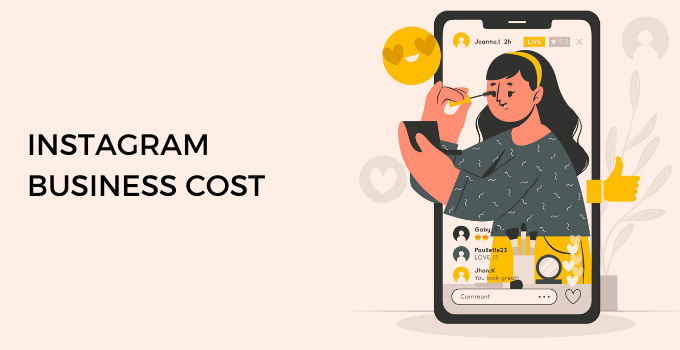 Instagram business cost