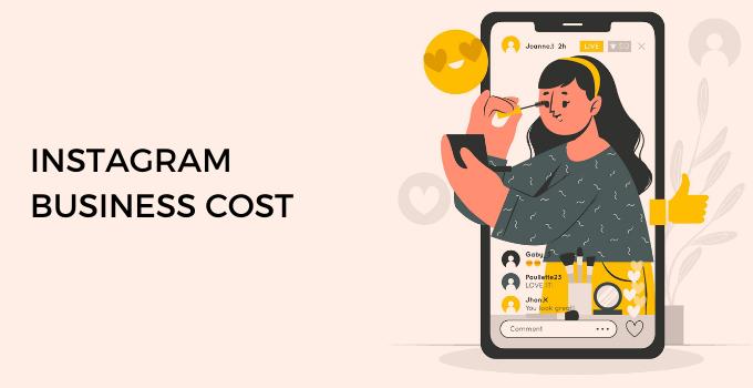 Instagram business cost